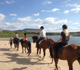 Balade de 1h sur la plage à Island View Riding Stables