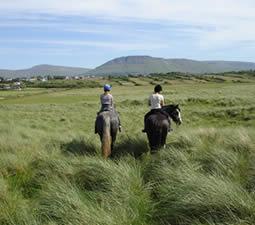 Randonnées équestre en Irlande