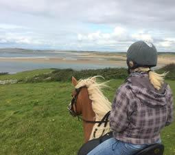 Randonnées à cheval sur l'ile OConnor