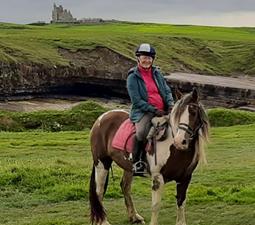Randonnées à cheval jusqu'à Mullaghmore avec Island View Riding Syable