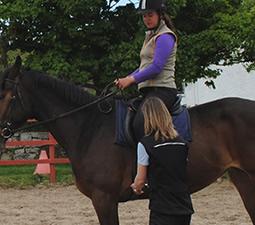 cours d'équitation Centered Riding