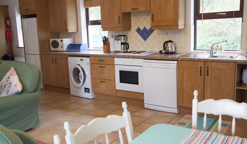 Kitchen in Sunset Self Catering Accommodation
